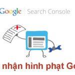website bị google phạt